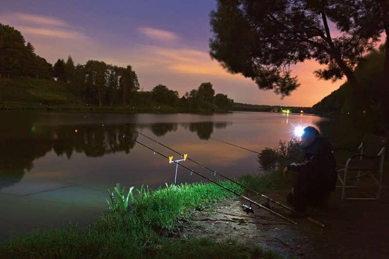 Ловля карпа в ночное время