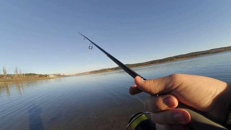 Ловля на спиннинг с берега