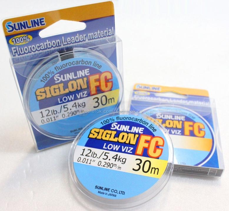 sunline siglon fc флюорокарбон