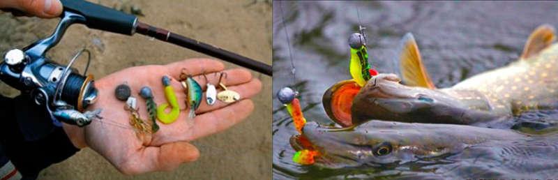 Ловля щуки на джиг
