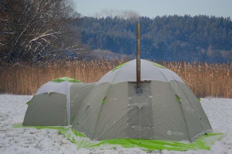 Лотос - зимняя палатка