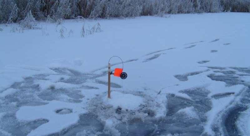 Зимняя рыбалка на щуку на жерлицы - практика 2021