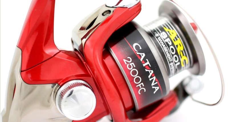 Спиннинговая катушка Shimano Catana 2500