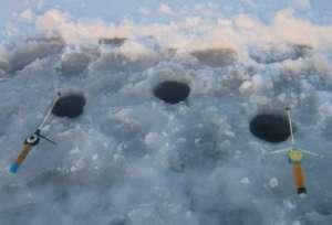 Лунки зимой