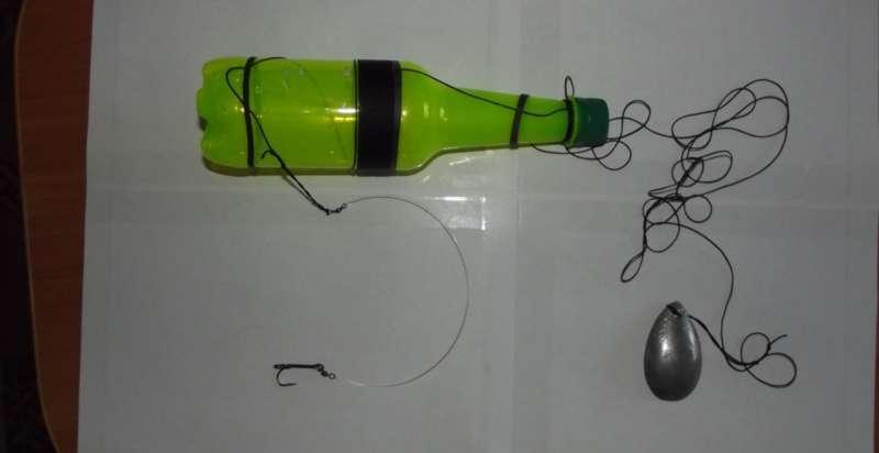 Жерлица из бутылки