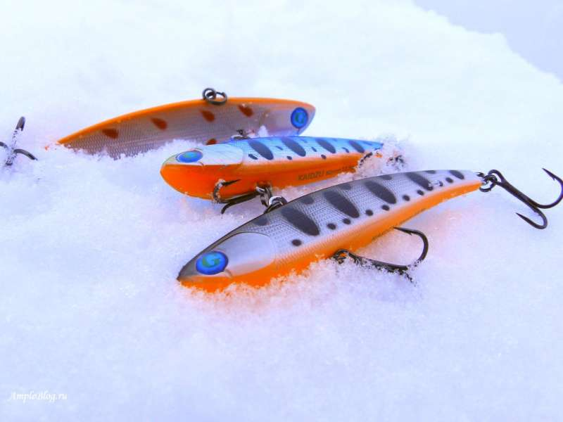 Раттлины на снегу