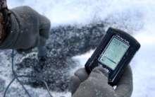 Эхолот практик для ловли на льду