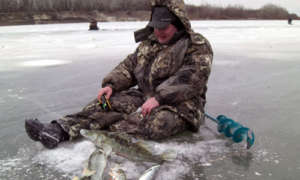 Зима ловля на льду костюм