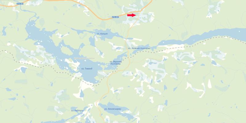 Рыбалка в Карелии карта, водоемы, дороги