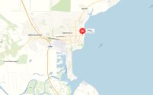 База отдыха Чайка - Цимлянск - карта