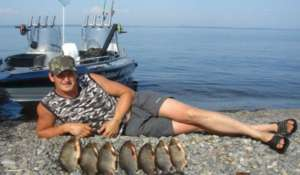 Рыбалка дикарем в Астрахани