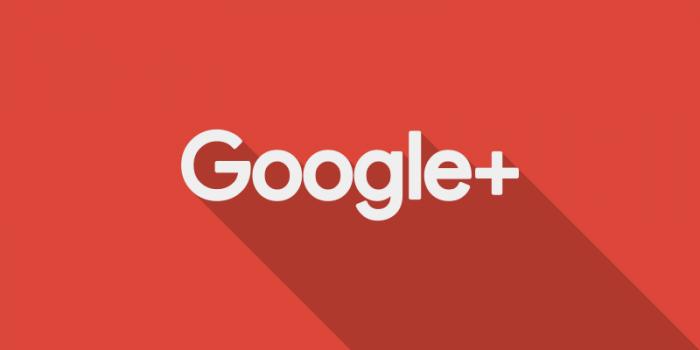 Гугл+ баннер