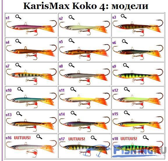 Karismax KOKO 4: модели