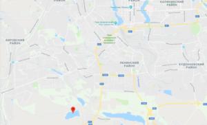 Рыбалка в Донецке ДНР карта
