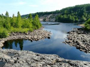 Рыбалка в Карелии река Суна