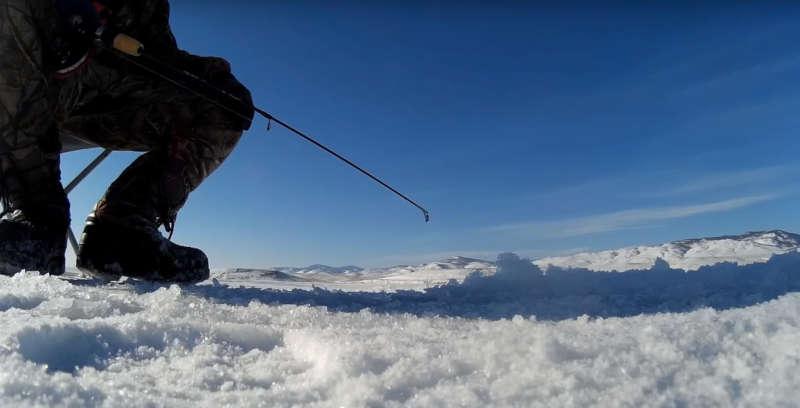 Ловля окуня на блесну по первому льду: фирменный балансир или самодельная блесна