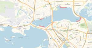 Река Казанка приток Волги - основное место для рыбалки в черте города Казань