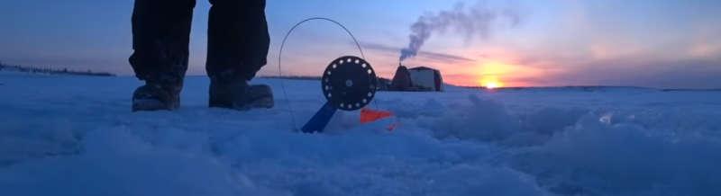 Клевая рыбалка в Якутии зимой 2019