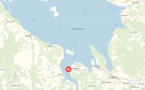 Местоположение базы отдыха Коприно на карте