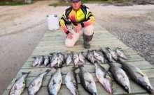 Отчет с рыбалки на рыбинском водохранилище