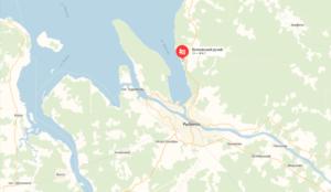 Волковский ручей местонахождение на карте