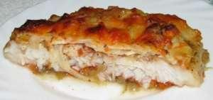 Пангасиус в духовке с сыром - рецепт, фото