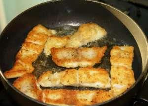Пангасиус приготовление на сковороде - фото, рецепт