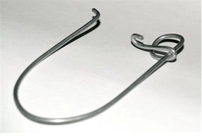 Кукан рыболовный из велосипедной спицы