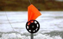 Жерлица для зимней рыбалки на платформе