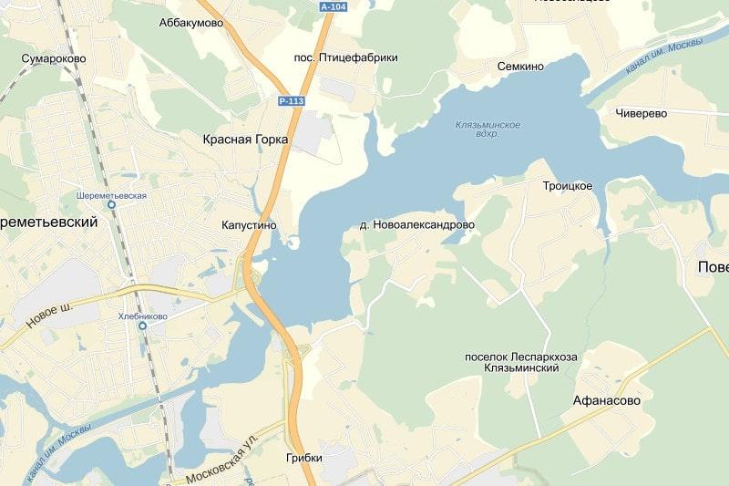 Прогноз клева в Подмосковье Клязьминское водохранилище