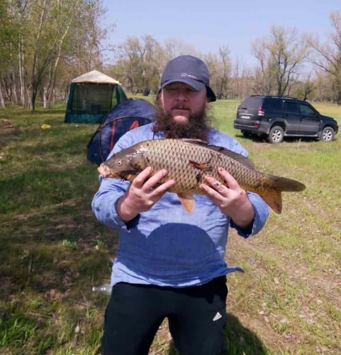 Отчет о рыбалке на Ахтубе