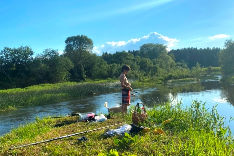 Отчет о рыбалке на реке Воря в Смоленской области