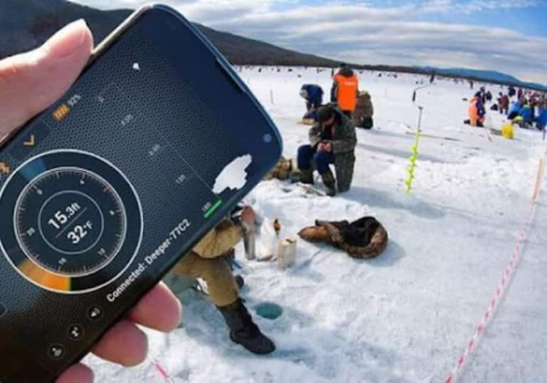 Эхолот лед